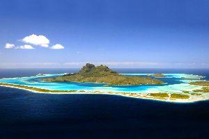 Bora Bora , Les motus , Bora Bora , Polynésie