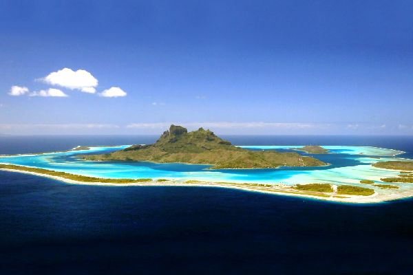 Bora Bora , The motus , French Polynesia
