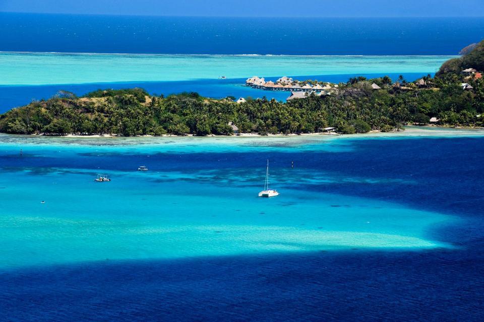 Bora Bora , I motu , Polinesia