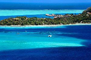 Bora Bora , La pointe Matira , Polynésie