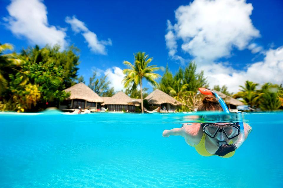 Bora Bora , Pointe Matira , French Polynesia