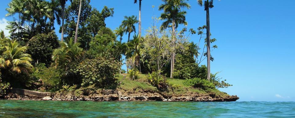 La naturaleza de las islas exteriores