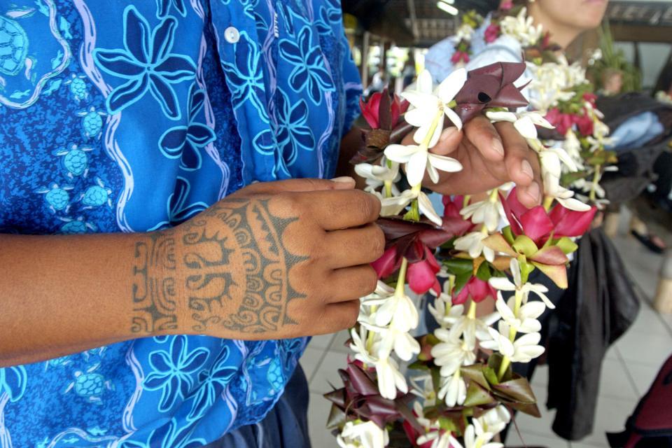 La flora , Polinesia