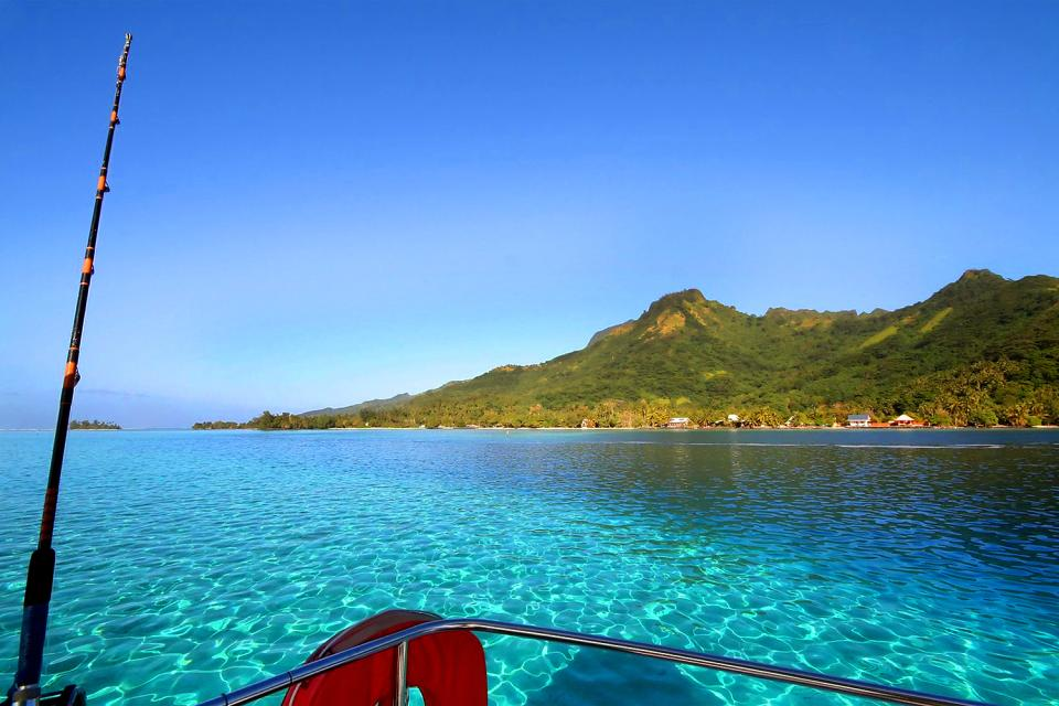 La battuta di pesca , Polinesia francese