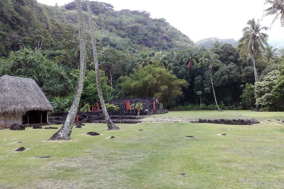 The marae of Arahurahu (Tahiti Nui) , Marae Arahurahu (Tahiti Nui) , French Polynesia