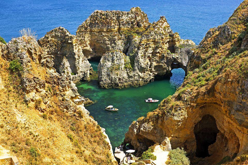 L'Algarve , L'Algarve, la côte d'Azur portugaise , Portugal