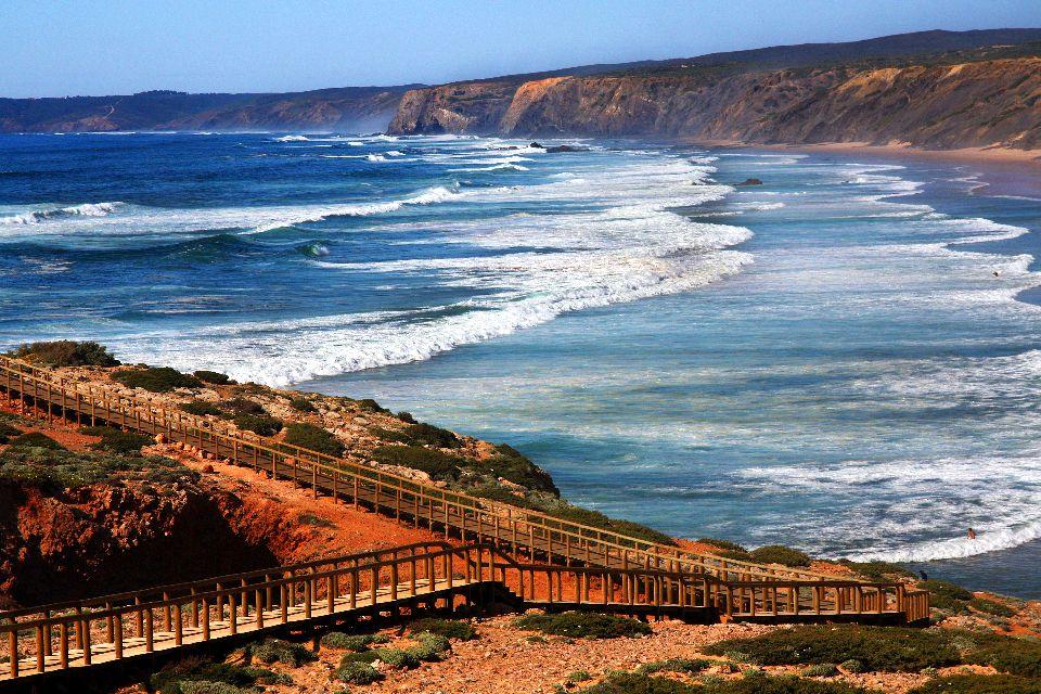 L'Algarve , Côte Ouest de l'Algarve , Portugal