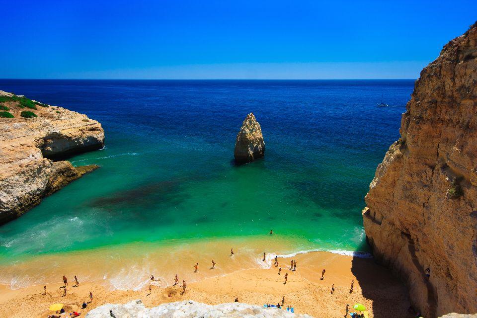 L'Algarve , Douces plages , Portugal