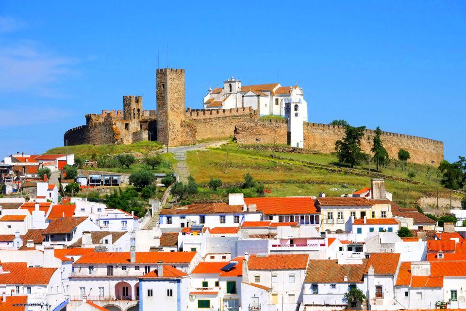 Il villaggio di Arraiolos, L'Alentejo, I paesaggi, Portogallo centrale e settentrionale