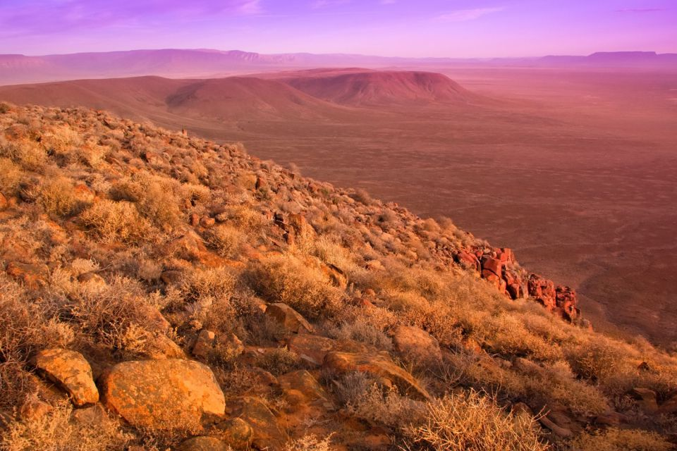 Parchi del Karoo, KwaZulu-Natal, I paesaggi, Sudafrica