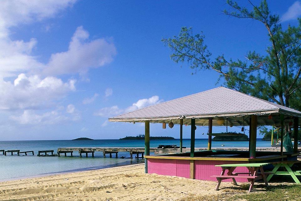 Eleuthera , Harbour Island , Bahamas