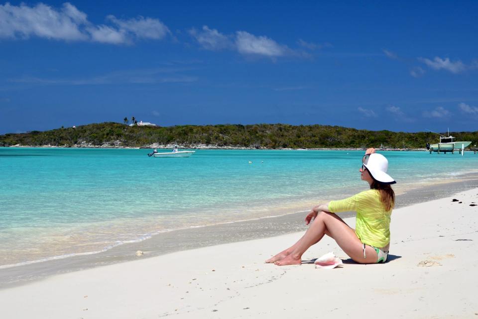 The Exumas , Il noleggio delle barche , Bahamas