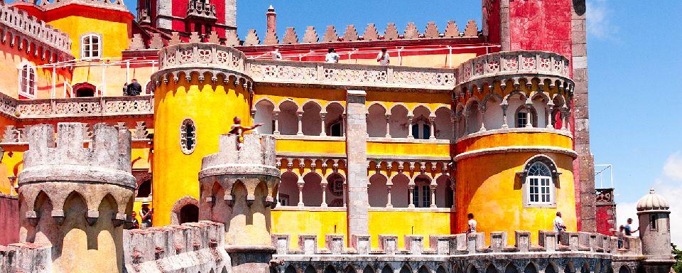 Il palazzo nazionale di Pena a Sintra
