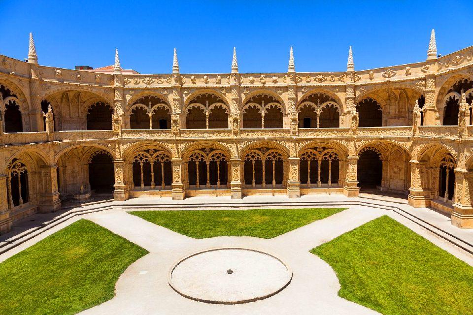 L'architettura , Monastero dei Geronimiti a Lisbona , Portogallo