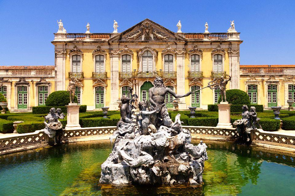 L'architettura , Il palazzo nazionale di Queluz in Portogallo , Portogallo