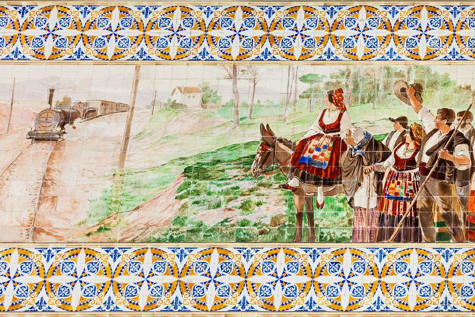 Gli azulejos , Finestra a Lisbona, Portogallo , Portogallo