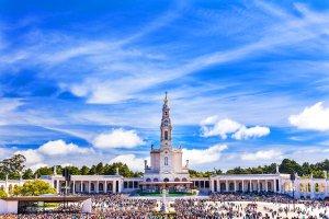 Fatima , Il santuario Nostra Signora di Fatima , Portogallo