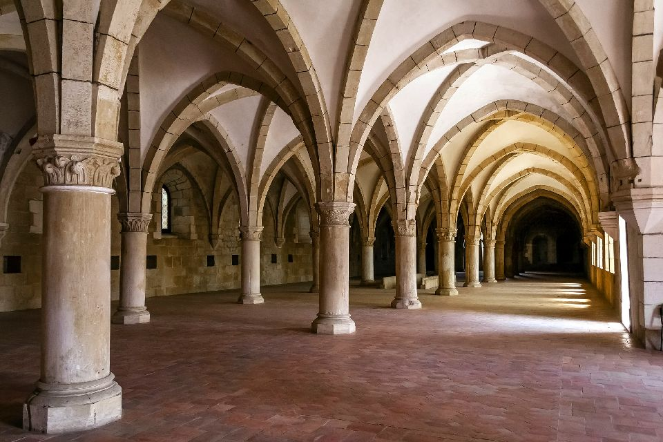 Monastère de Santa Maria à Alcobaça , Portugal