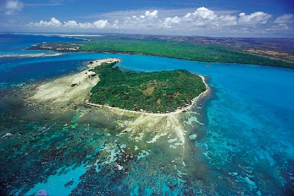 La costa sudoeste , Una naturaleza generosa , República Dominicana
