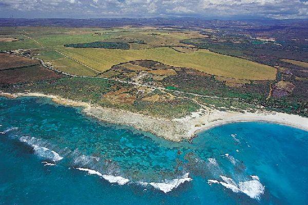 La costa sudoeste , Una costa salvaje , República Dominicana