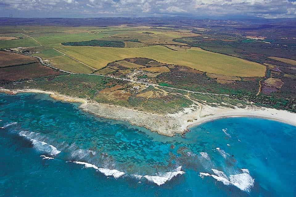 South-West coast , A wild coastline , Dominican Republic