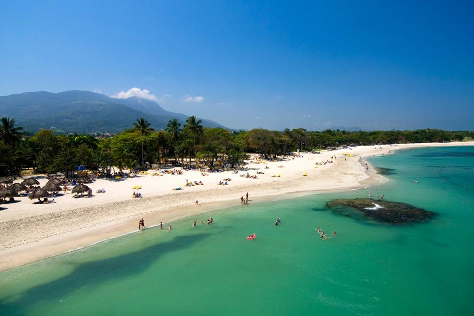 The Amber coast , Puerto Plata beach , Dominican Republic