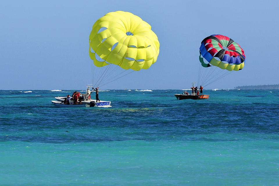 Punta Cana , Le parachute ascensionnel , République dominicaine