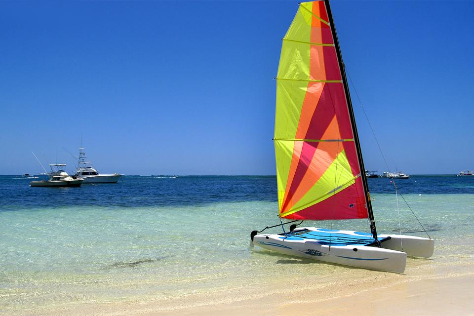 Costa Verde , A wide selection of water sports , Dominican Republic