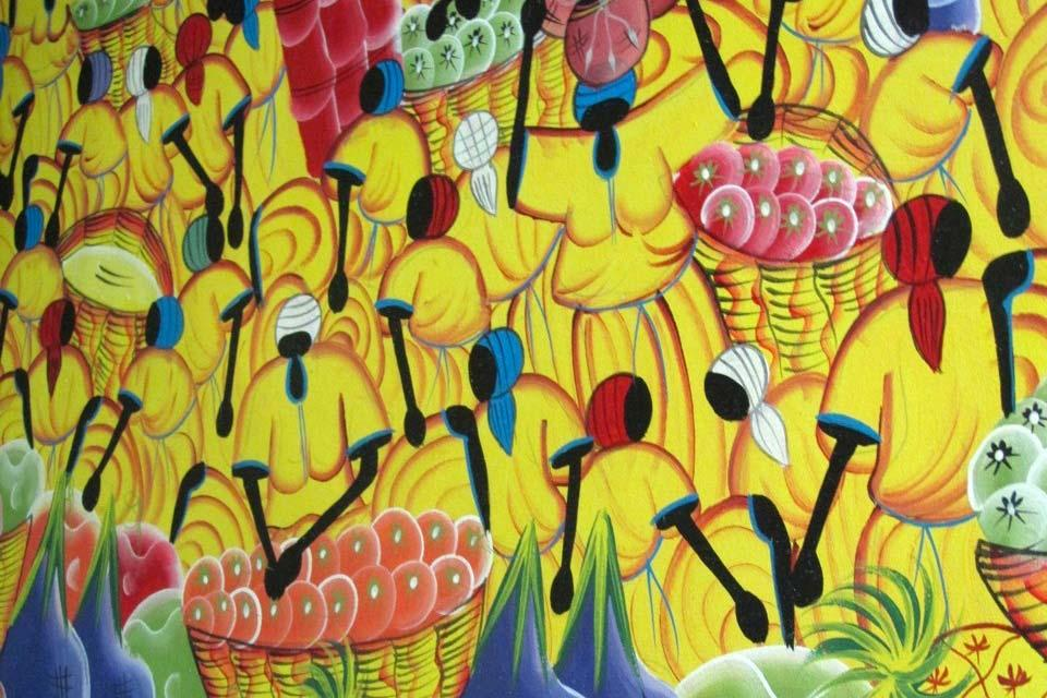 La peinture , La peinture naïve , République dominicaine