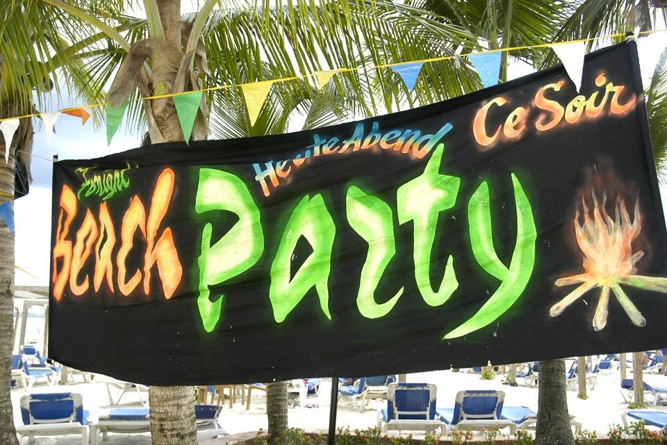 La musique , Beach party , République dominicaine