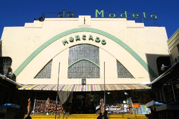 Mercado Modelo market hall , Dominican Republic