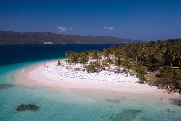 Cayo Levantado en Samana, Las islas y las playas, Samana, República Dominicana