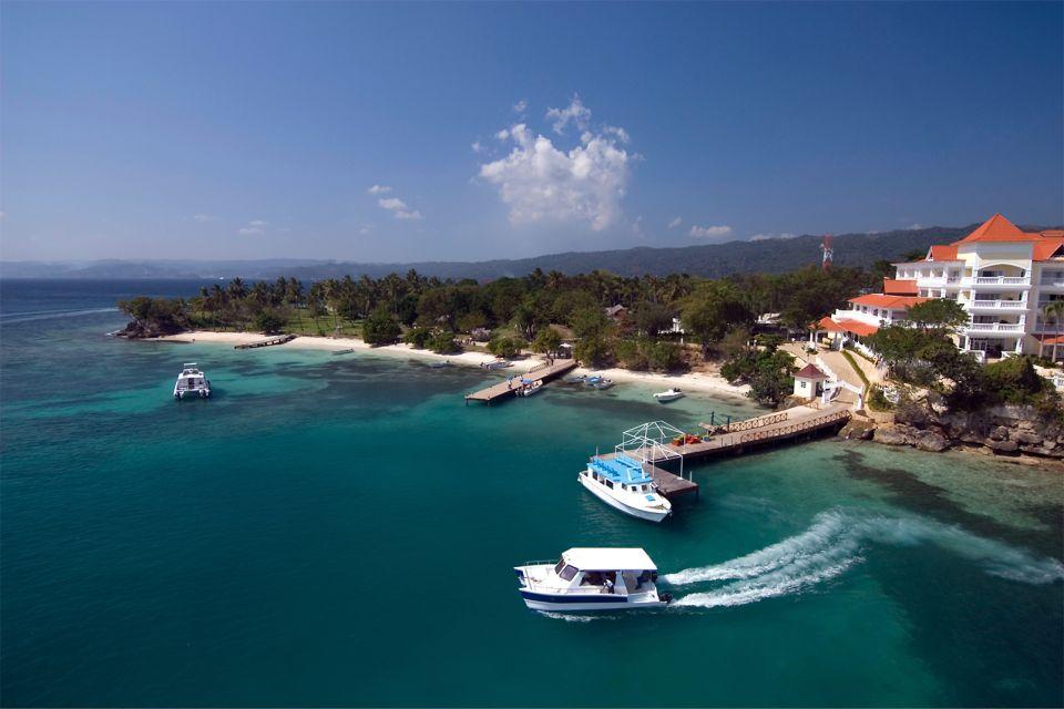 An upmarket resort, Cayo Levantado in Samana, Islands and beaches, Samana, Dominican Republic