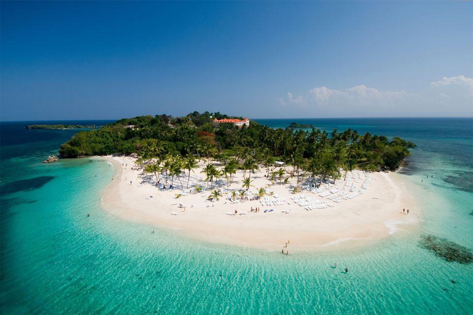 The Playa Grande, Cayo Levantado in Samana, Islands and beaches, Samana, Dominican Republic