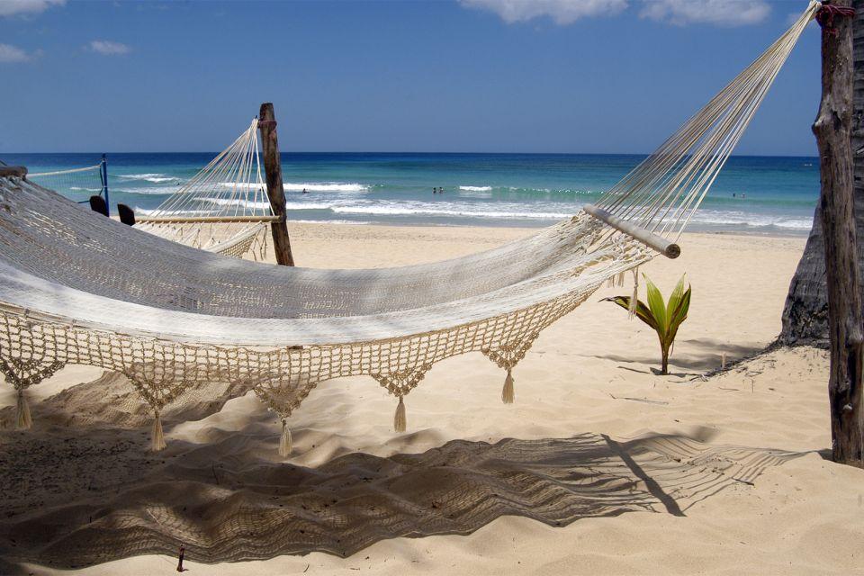 Les îles et les plages, amerique, caraïbes, caraibes, republique dominicaine, punta cana, bavaro, plage, antilles, vacances, hammac