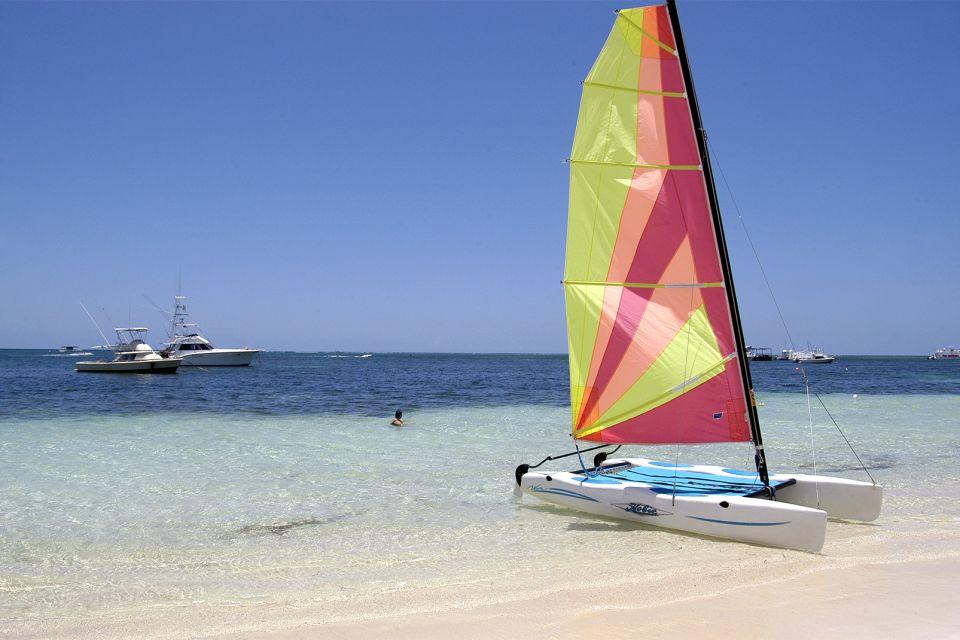 Les îles et les plages, amerique, caraïbes, caraibes, republique dominicaine, punta cana, bavaro, plage, antilles, vacances, sport, bateau, catamaran