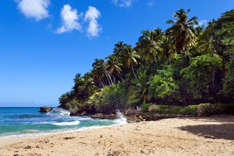 , Playa Grande en Río San Juan, Las islas y las playas, República Dominicana