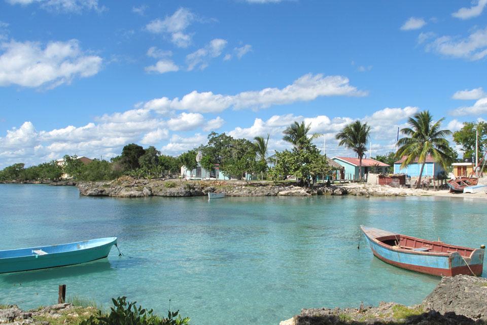 Bayahibe , Le village de pêcheurs de Bayahibe , République dominicaine