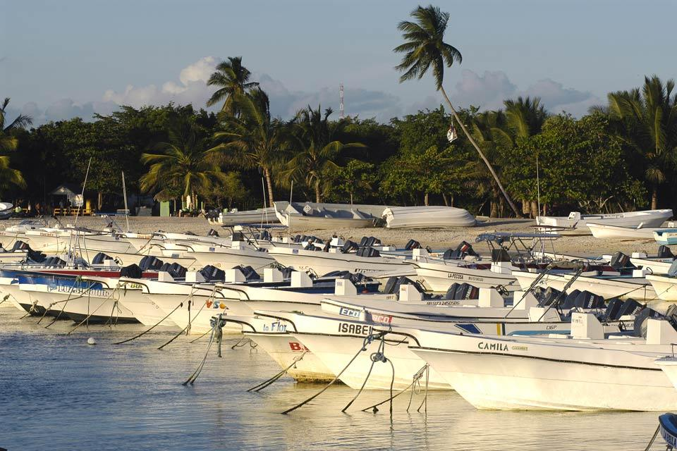 Bayahibe , Le port de pêche , République dominicaine