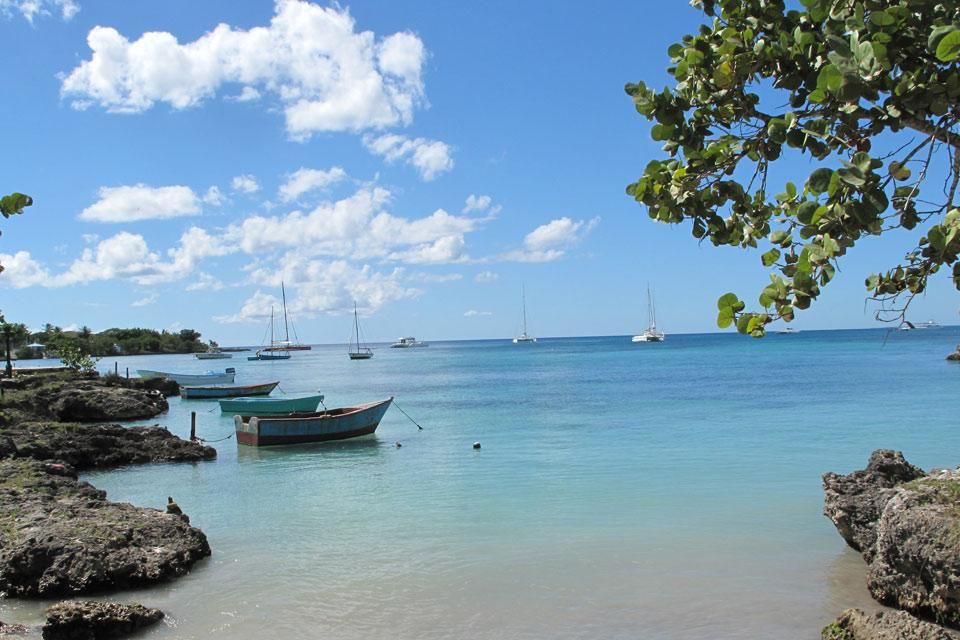 Bayahibe , A protected cove , Dominican Republic