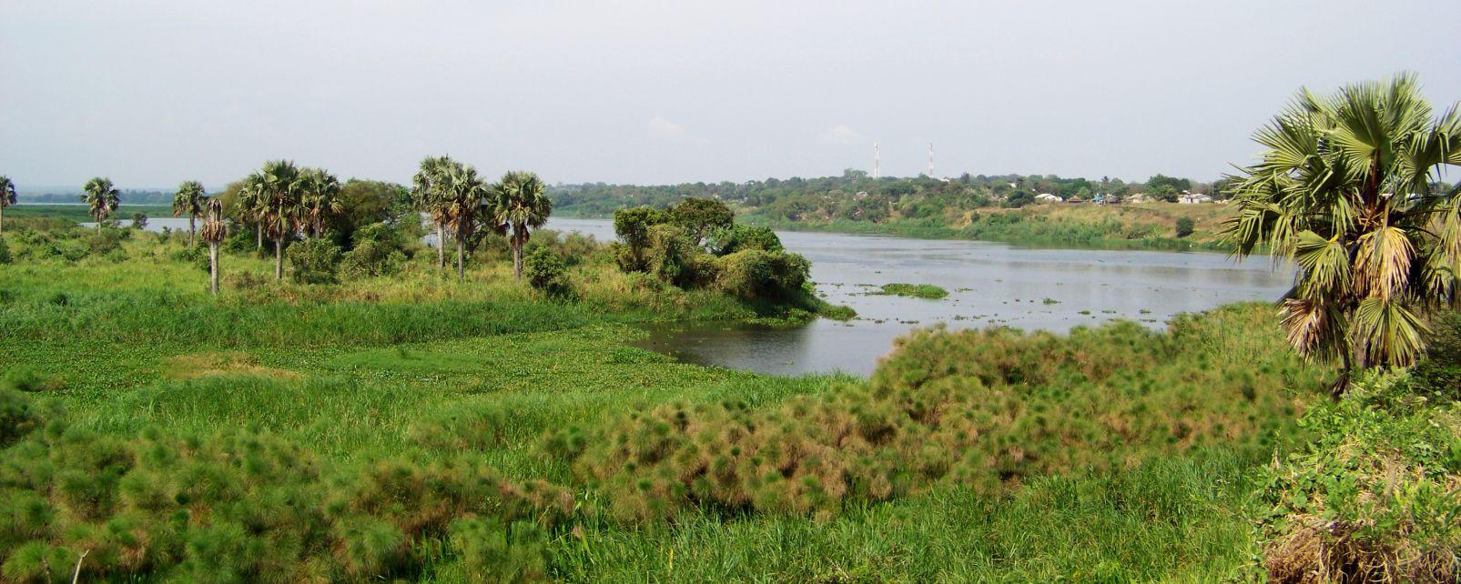 Il lago Mobutu Sese Seko, Le rive, Repubblica democratica del Congo