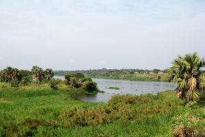 Il lago Mobutu Sese Seko , Repubblica democratica del Congo