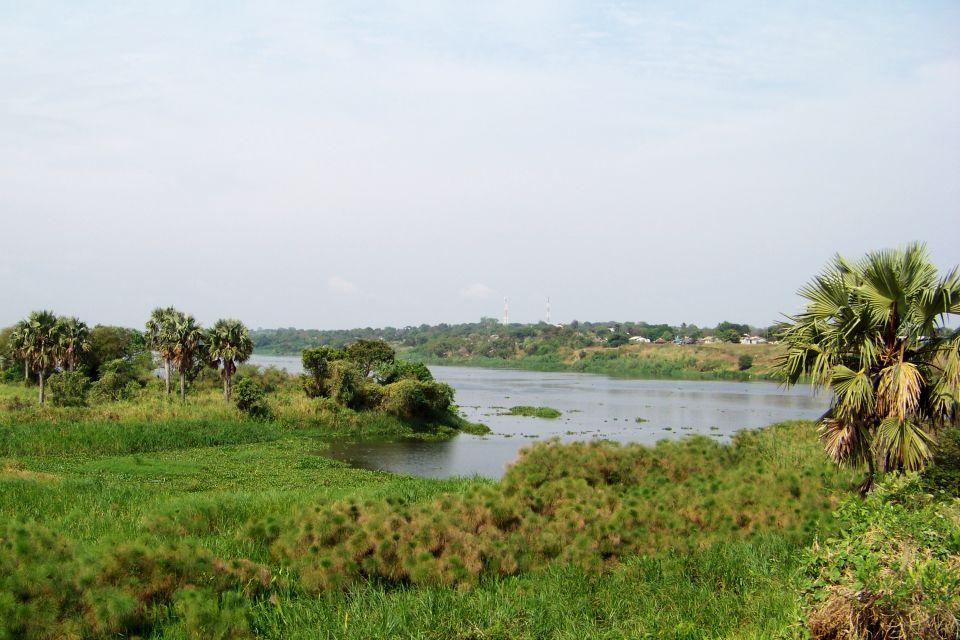 El lago Mobutu Sese Seko, Las costas, República Democrática del Congo