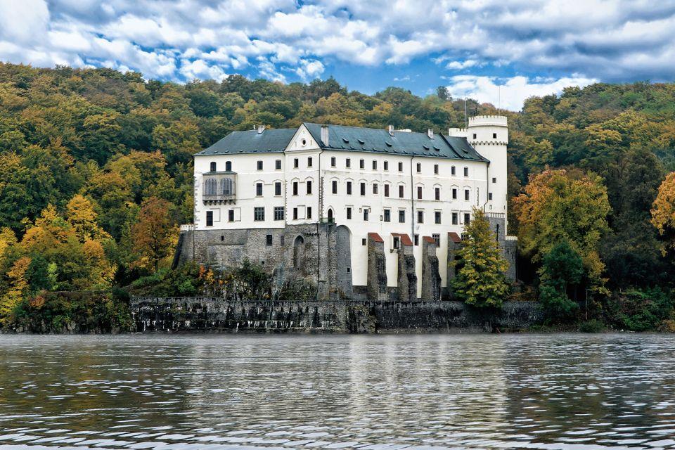 Les paysages, République Tchèque, Bohême, château