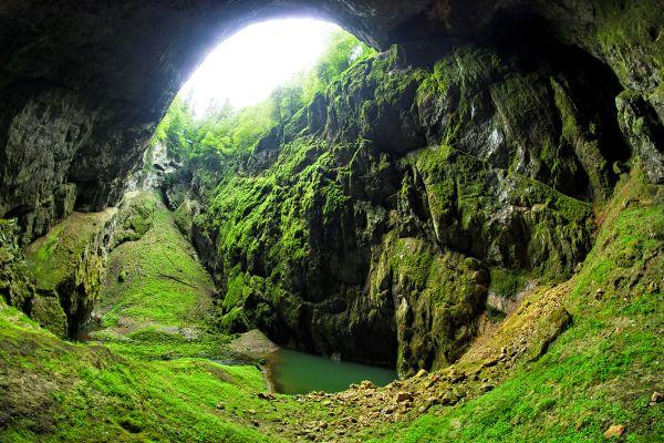 Sloup-Sosuvka cave, Czech Republic., Moravia, Landscapes, Czech Republic