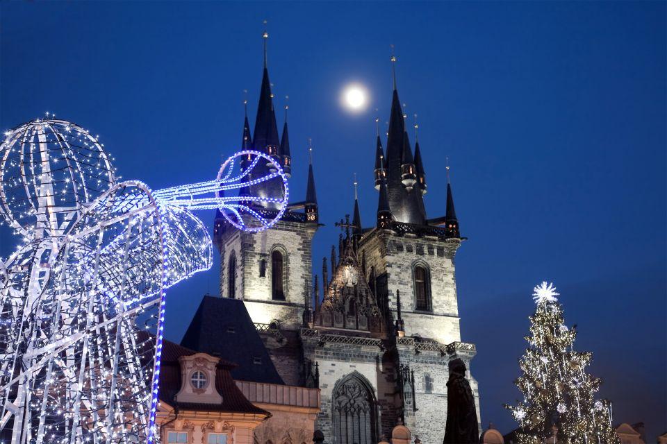 Les arts et la culture, Noël, Tchéquie, République tchèque, Prague, Bohème, tradition, église, notre-dame du tyn, tyn, Staromestska, vieille ville