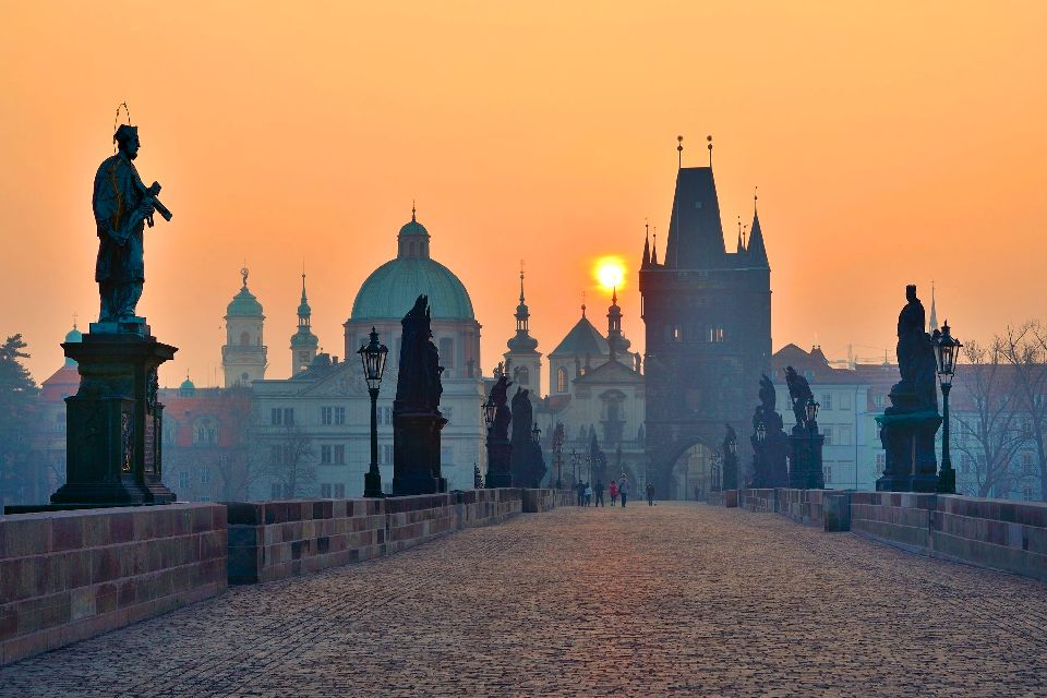 Charles Bridge in Prague , Charles Bridge In Prague , Czech Republic
