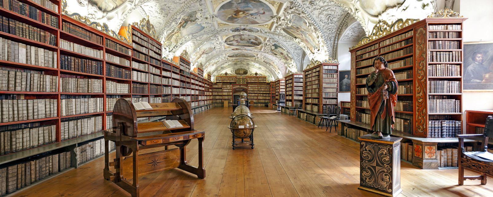 Strahov Monastery, Strahov monastery, Monuments, Prague, Czech Republic