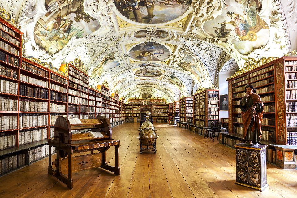 Strahov monastery , The library , Czech Republic
