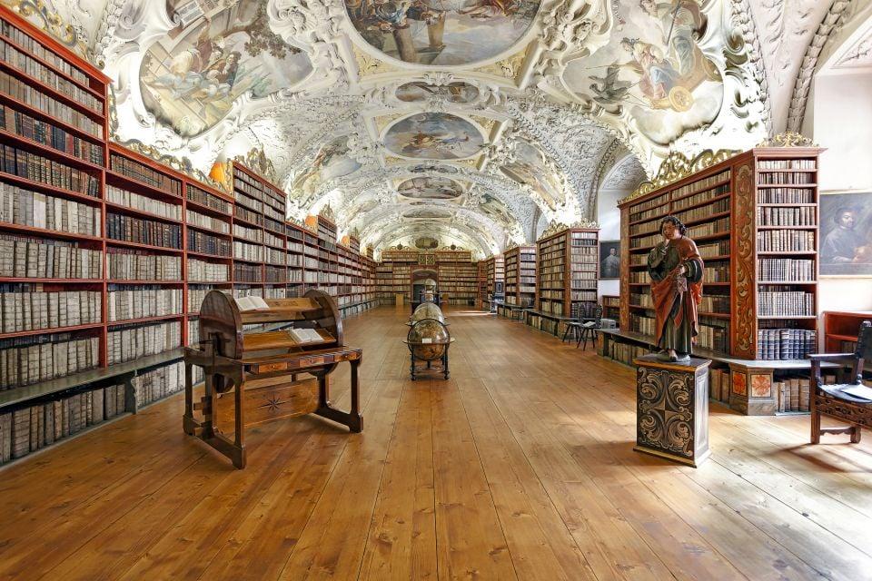Le monastère de Strahov, Les monuments, Prague, République tchèque